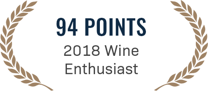 94 points 2018 wine enthusiast