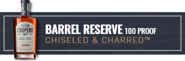 Filter by Barrel Reserve 100 Proof Chiseled and Charred