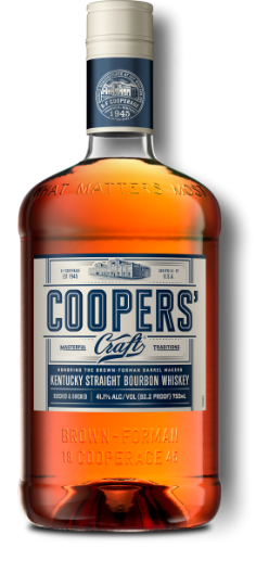 Coopers' Craft 82.2 Proof Bottle