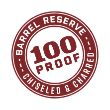 Barrel Reserve 100 Proof Chiseled and Charred